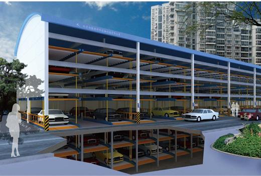 超高频RFID技术在智能立体式停车场中的应用