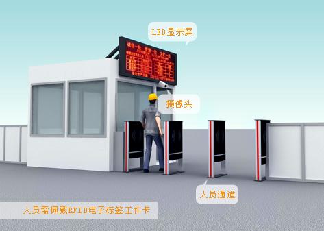 超高频读写器在建筑工地远距离人员考勤管理制度中的应用
